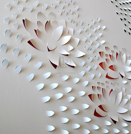 Lotus Flow I (Triptych)